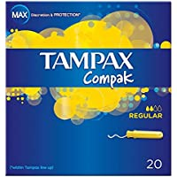 Tampax Compak Applikator Tampons Regular (20) - Packung mit 2 preisvergleich bei billige-tabletten.eu
