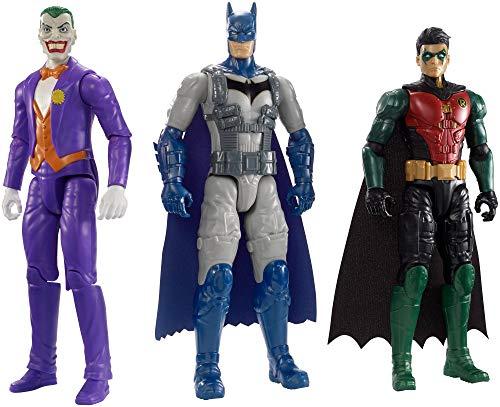 True Filme Batman Missionen 3 Figuren Batman, Robin & The Joker