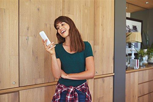AVM FRITZ!Fon C4 Telefon (Farbdisplay, beleuchtete Tastatur) weiß, deutschsprachige Version - 5