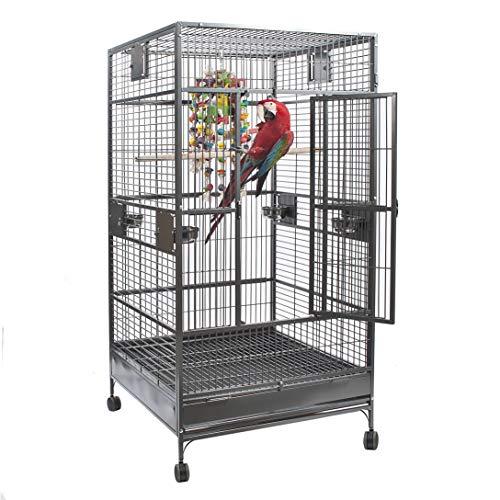 Montana Cages ® | Arkansas I - Antik, Voliere, XXL Papageienkäfig, Vogelkäfig für große Papageien