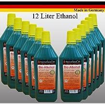 Bioetanol Bio Alcohol Elige de entre 5, 12, 24 litros. Por Chimenea etanol (12 Litros)