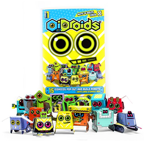oidroids-nuts-n-bolts-crew-set-1-pack-of-15-papercraft-robot-cards
