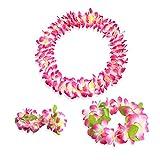 Blumenketten Hawaiikette Rosa