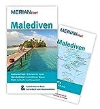 MERIAN live! Reiseführer Malediven: MERIAN live! - Mit Kartenatlas im Buch und Extra-Karte zum Herausnehmen