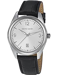 Pierre Cardin Herren-Armbanduhr Special Collection Analog Quarz Leder PC104741S05