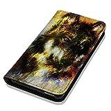 Hülle Galaxy S3 Mini Hülle Samsung S3 Mini i8190 i8200 Schutzhülle Handyhülle Flip Cover Case Samsung Galaxy S3 Mini i8190 i8200 (OM1032 Wolf)