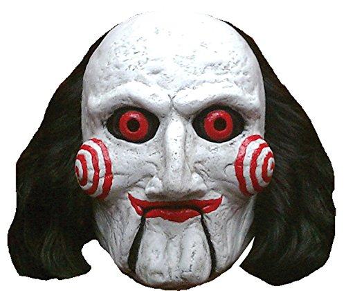 Unbekannt Générique mahal766-Maske Latex Erwachsene Billy Puppet-Saw-Einheitsgröße (Billy Puppet The Saw)