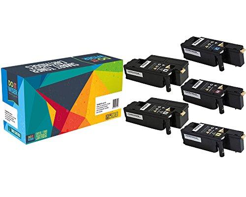 5 Do it Wiser ® Kompatibel Toner zu Xerox Phaser 6020 6022 WorkCentre 6025 6027 | 106R02759 106R02756 106R02757 106R02758 (Kompatibel Phaser)