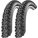 2x Schwalbe Black Jack Draht Reifen 26 x 1,90 | 47-559 schwarz Paar