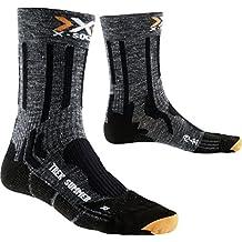 X-Socks Trekking Summer, Calze Uomo, Antracite/Nero, 35/38