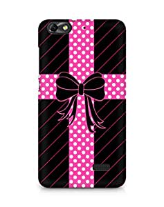 Amez designer printed 3d premium high quality back case cover forHuawei Honor 4C (ribbon bow)