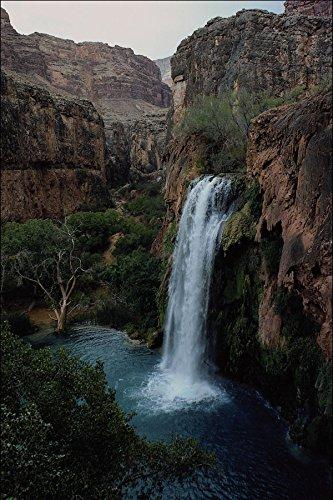 558017 Havasu Falls Havasupai Indian Reservation Grand Canyon A4 Photo Poster Print 10x8