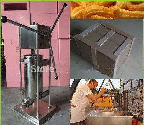 10L Manual español churro Panificadora comercial profesional churro eléctrica herramienta cocina cocina repostería CE