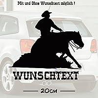 Sliding Stop #1 mit Wunschtext | Auto Aufkleber | Pferde | Tiere | Wunschtext