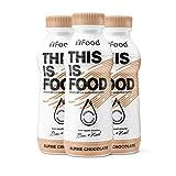 YFood Schokolade | Laktose- und glutenfreier Nahrungsersatz | 33g Protein, 26 Vitamine und Mineralstoffe | Leckere Astronautennahrung - 25% des Kalorienbedarfs | Trinkmahlzeit, 12 x 500 ml...