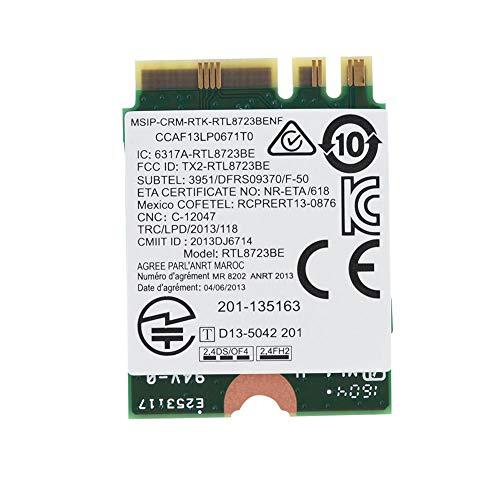 Pokerty WLAN-Karte, RTL8723BE WLAN-Karte 150 Mbit/s WLAN-Karte 300 M Bluetooth4.0 NGFF WLAN-Karte