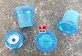 Gummi Hülse 16mm 4Stück Heavy Duty Gehstock Krücke Pad Zimmer unten Displayschutzfolie Ende blau colourtyagi Racing®