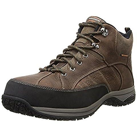 Dunham Men's Lawrence Sport Boot Steel toe Dark Brown Boot, Dark Brown, 40 4E EU