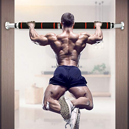 yangGradel 1 Pcs Chin Pull Up Bar for Doorway with Comfort Grips Adjustable Exercise Equipment