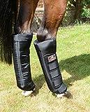 VITANDAR Therapeutische Stallgamaschen für Pferde mit Infraroteffekt, Extra Lang für Gelenksupport, 1 Paar, hinten