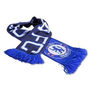 CHELSEA FC officiel bleu et un noir écharpe