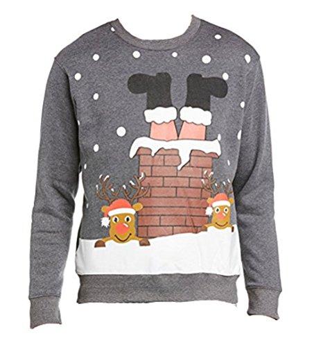 mens-ladies-christmas-jumper-xmas-novelty-santa-chimney-long-sleeve-small