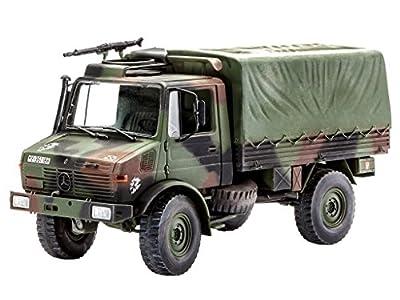 Revell 03082 - Modellbausatz - LKW 2t. tmil gl Unimog im Maßstab 1:35 von Revell