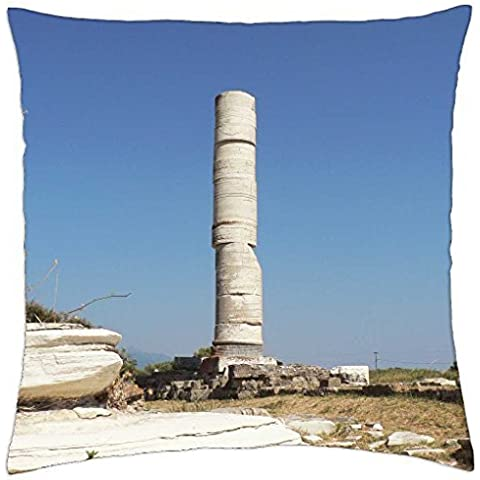 Old Temple Ruins - Throw Pillow Cover