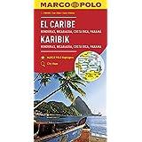 MARCO POLO Kontinentalkarte Karibik 1:2 500 000: Honduras, Nicaragua, Costa Rica, Panama (MARCO POLO Kontinental /Länderkarten)