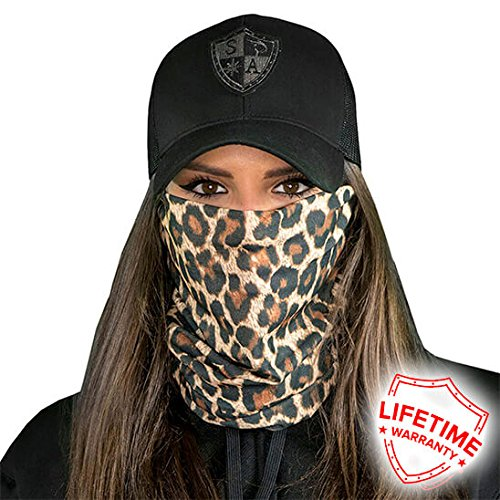A.S.98 SA Company Unisex Cheetah/Leopard Print Kappen, Mehrfarbig, one Size