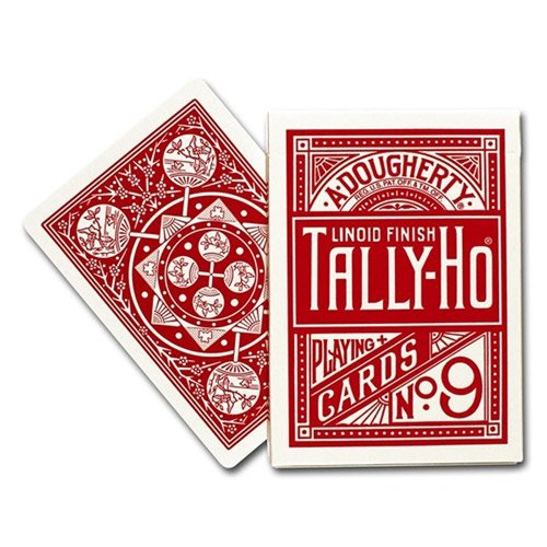 carte-tally-ho-fan-back-rosso