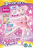 Angelina Ballerina: Star Pack (Triple Pack: Superstar Sisters/Musical Moves/The Ice Ballet) [DVD] [UK Import]