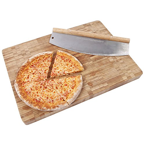 Pizzamesser / Wiegemesser mit 35 cm Klinge - 3