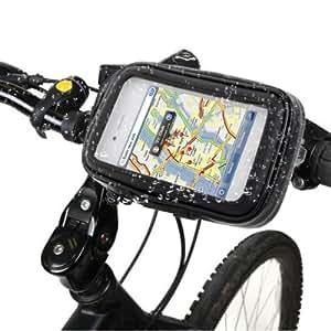 Rocina Moto/vélo Support et housse Set M pour Nokia Lumia 520 / Lumia 620