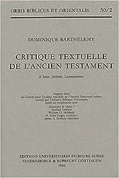 Critique textuelle de l'Ancien Testament, tome 2 : Isaïe, Jérémie, lamentations