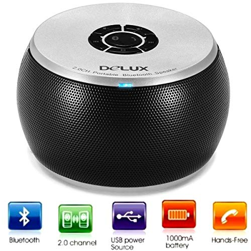 Delux Aktivbox Bluetooth Q12 schwarz Retail -