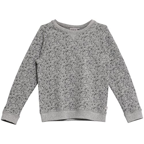 Wheat Jungen Sweatshirt Elvis, Grau (Melange Grey 224), 98 (Herstellergröße: 3y) (Sweatshirt Elvis)