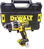 DeWalt Akku-Schlagbohrschrauber/ Schlagbohrer (460 W, 18 V, LED-Arbeitsleuchte, bürstenlose Motor-Technologie, 2-Gang Vollmetallgetriebe, 15-stufiges Drehmoment) DCD796NT