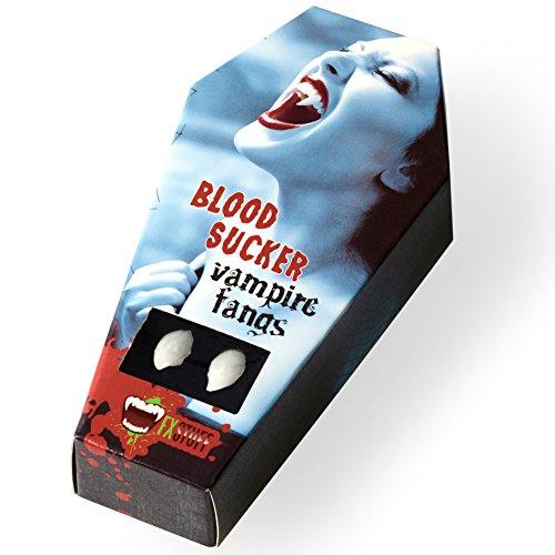 Halloween Lady Kostüm Vampir (FXSTUFF Vampirzähne