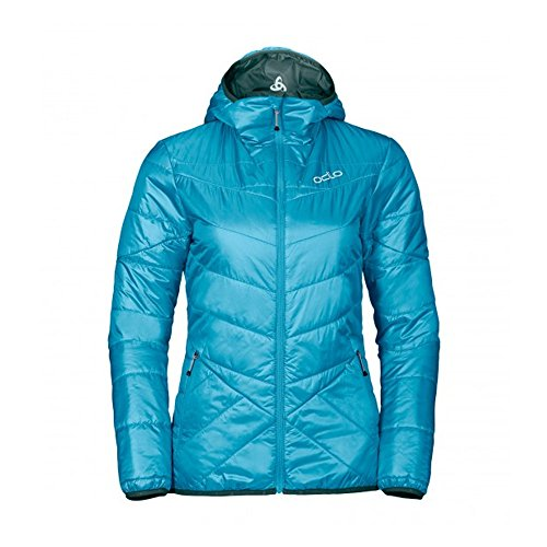 Odlo Fahrenheit Primaloft Jacket Women - algiers blue-pondarosa pine
