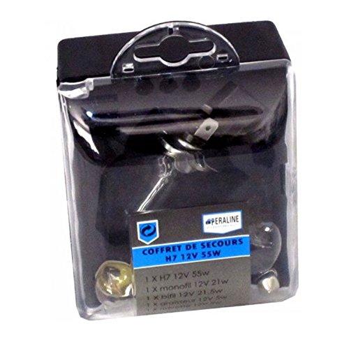 Coffret d'Ampoules 12V H7 55W de Secours de Rechange 4 IV - 890
