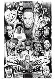 1art1 42438 Rapper - Rap Gods Poster 91 x 61 cm