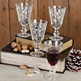 Dibor - French Style Accessories for the Home Glühwein Ergab Glas 23 cl – Set von 4
