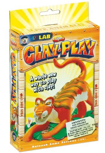 Clay Play Tiger by Elizabeth Johnson (2010-04-07)