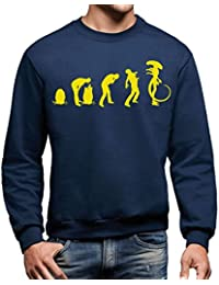 Sweatshirt Evolution Of Alien Incubation - FILM by Mush Dress Your Style