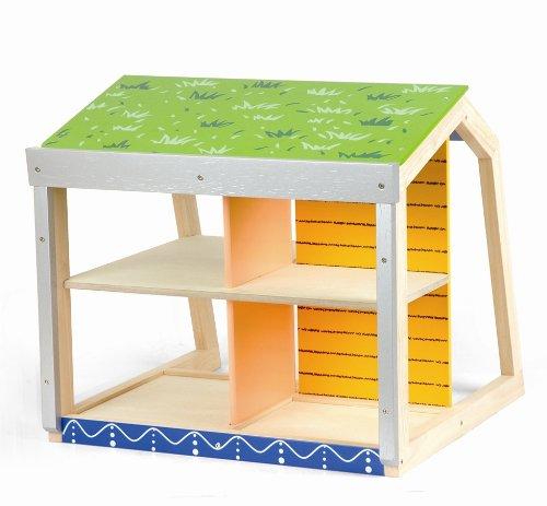 Preisvergleich Produktbild Pintoy Puppenhaus Ökohaus Energiehaus mit Solaranlage Voltaikanlage