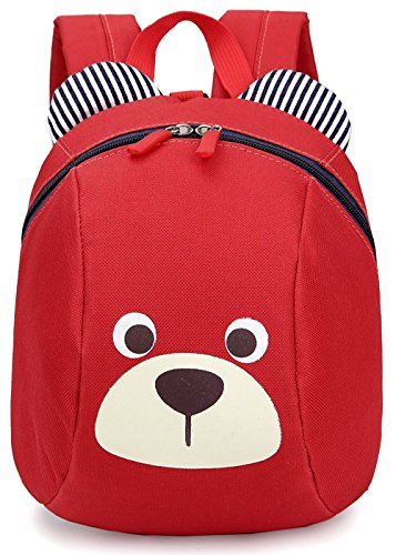 Imagen de  infantil cuerdas mascotas bebe niña animales barata guarderia saco zoo perro oso rojo 1 3año  alternativa