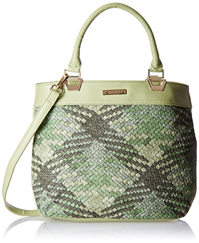 Caprese Women's Satchel (Olive and Green)