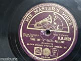 78 rpm GLENN MILLER take the A train / slip horn jive
