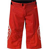 Troy Lee Designs Pantalón Corto Mtb Niño 2018 Sprint Solid Rojo (28 = 71Cm Niño, Rojo)